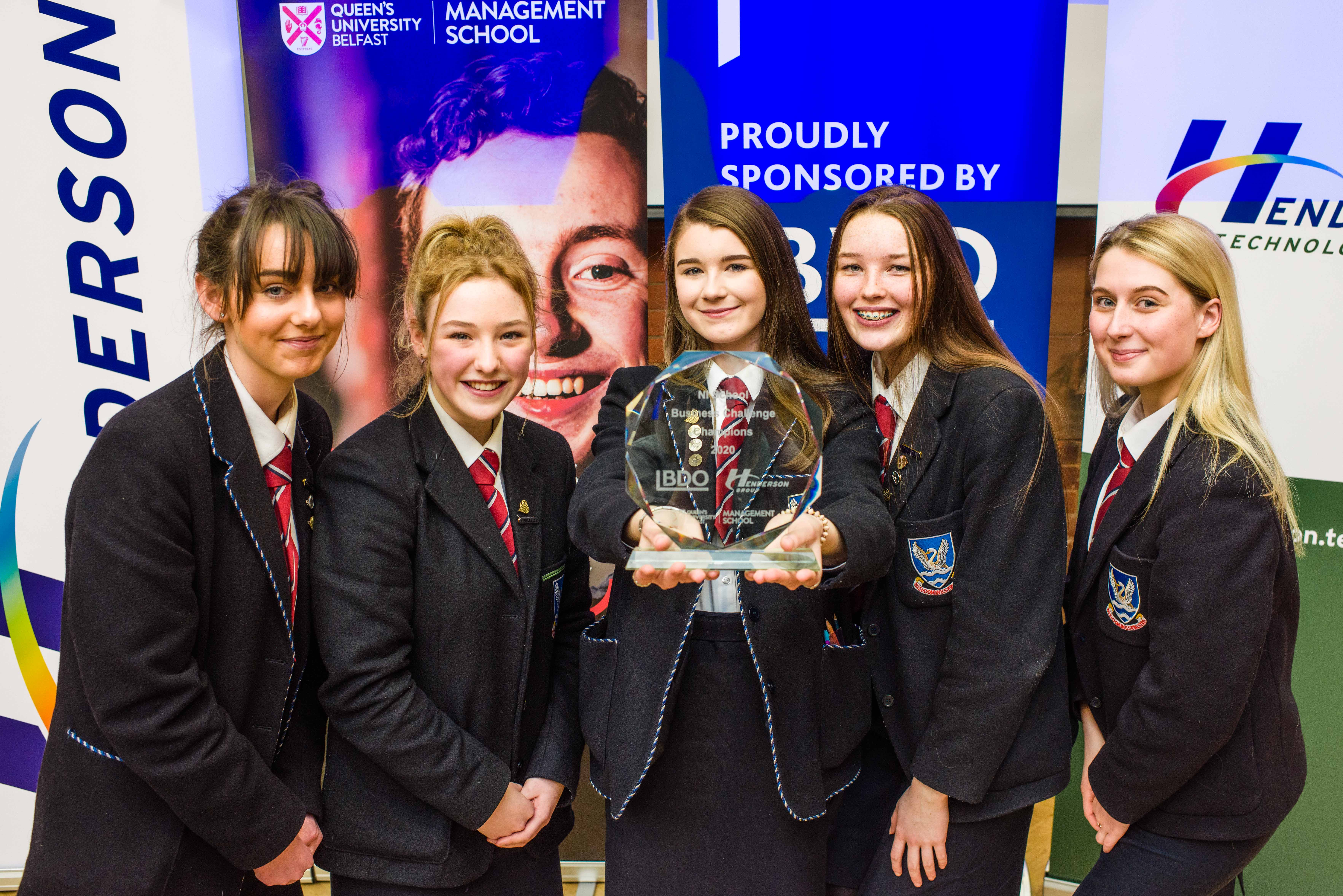 Bangor pupils claim victory at the NI Schools Business Challenge