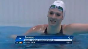 Paralympic success for Bethany Firth
