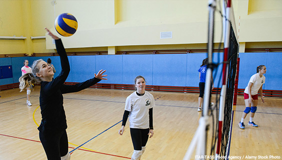 Volleyball - Key Stage 3